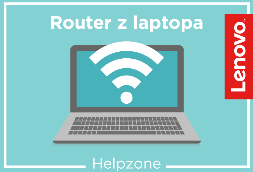 Router z laptopa