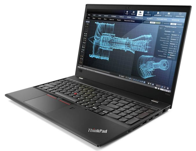 Laptop Lenovo ThinkPad P52s