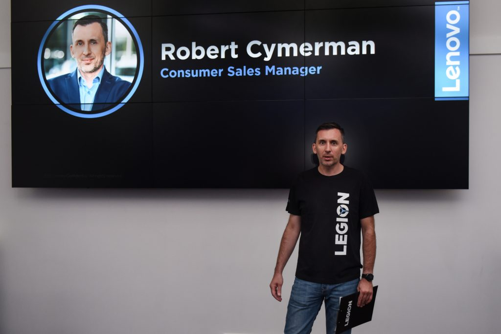 Robert Cymerman, Consumer Sales Manager firmy Lenovo