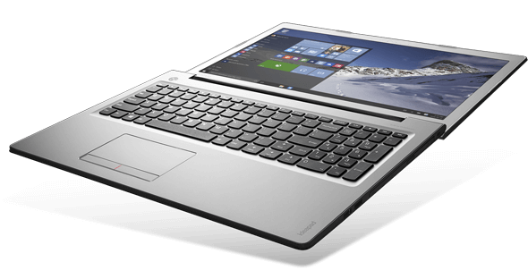 Smukły laptop Lenovo Ideapad 510
